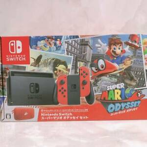 Nintendo-Switch-Super-Mario-Odyssey-Edition-Console-System-Set-Japanese-ver-New