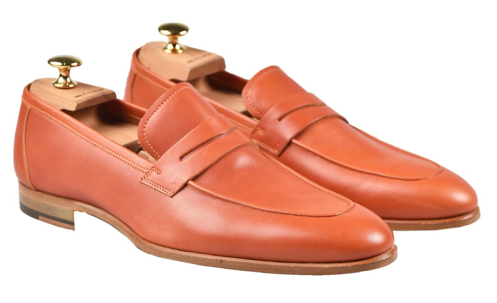 NEW KITON DRESS scarpe 100% LEATHER SZ 8 US 41 EU 19O116