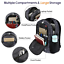 "miniature 5 - Matein Men's Camo 15.6"" Laptop Backpack Anti-Theft USB RFID Travel School Bag"