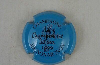 capsule champagne MIGNON MIGNON la champenoise 22 mai 1999 cuivre