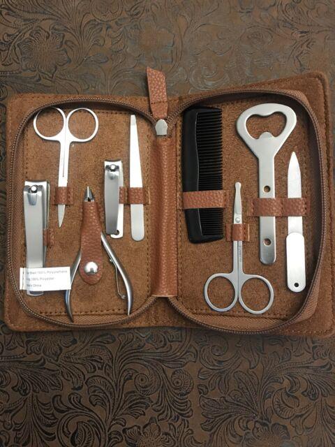 Men S Path Travel 10pc Grooming Kit For Sale Online Ebay