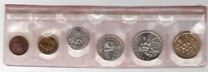 SINGAPORE-6-DIF-UNC-COINS-MINT-SET-1-CENT-1-1988-YEAR-OF-DRAGON