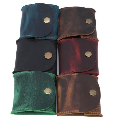 Unisex Multifunction Mini Wallet Purse Coin Pocket Zipper Leather Card Bag Z