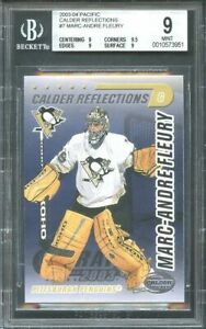2003-04-pacific-calder-reflections-7-MARC-ANDRE-FLEURY-rookie-BGS-9-9-9-5-9-9