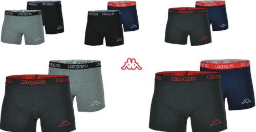 4x Original Kappa Boxershorts Unterwäsche Boxershort Boxer 95/% Baumwolle Gr.S