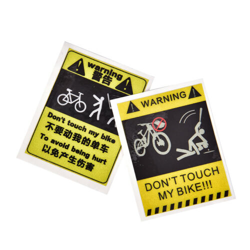 1Pc Bicycle Sticker Cycling Reflective Safety 4 Type Fixed Gear FramODCA