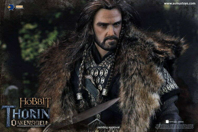 Asmus toys the Hobbit Série Thorin Oakenshield HOBT 06 1 6 Action Figure 9.8