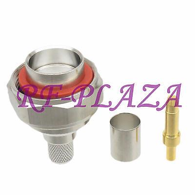10pcs Connector N male plug clamp RG8 LMR400 RG213 RG165 RG393 cable Straight