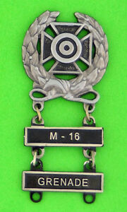 Army-Expert-Marksmanship-Badge-with-M-16-and-GRENADE-Qualification-Bars