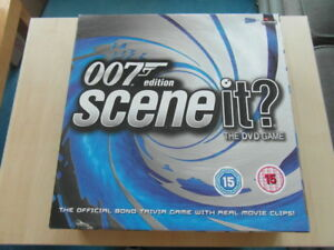 Scene-It-DVD-Game-Board-Game-007-James-Bond-Edition-VGC
