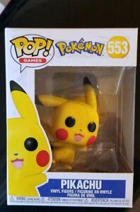 Funko Pop Pikachu Waving Games: Pokemon #553