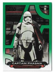 Topps Star Wars Card Trader 2019 Galaxy at War TLJ Captain Phasma Blue Digital