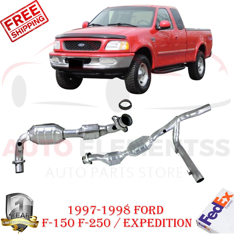 DEC Catalytic Converter Fits 1997 1998 Ford F-150 RWD 5.4L V8 GAS SOHC