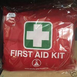 Survival-TRAVELLER-First-Aid-KIT-Car-ute-4WD-Home-Travel-Work-Office-boat