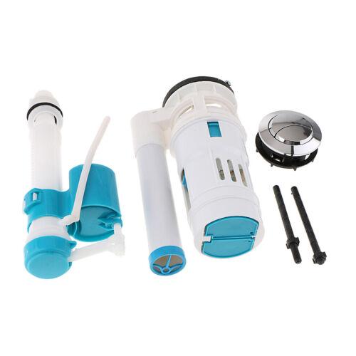 Toilet Fill Parts Water Drain Flush Valve Button Kit Repair Accessories #A