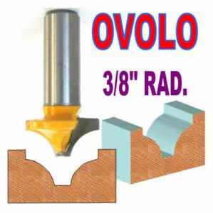 "1 pc 1/2"" SH 1"" Diameter 3/8"" Radius Ovolo Round Over Router Bit S"