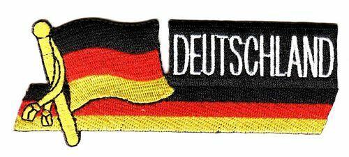 Sidekick Aufnäher Deutschland Patch Flagge Fahne