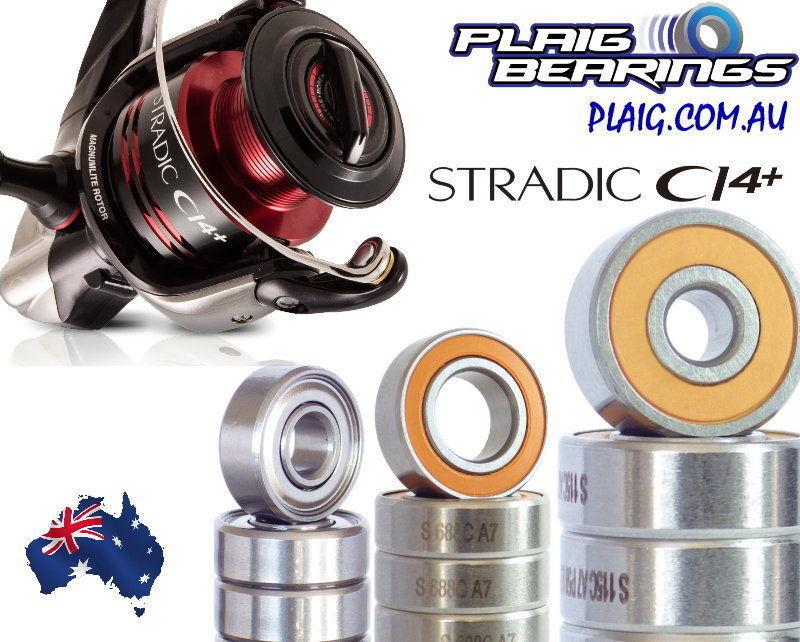 Shimano Stradic Fishing Reel Bearing Kits Stainless Steel and Ceramic Hybrid Ci4