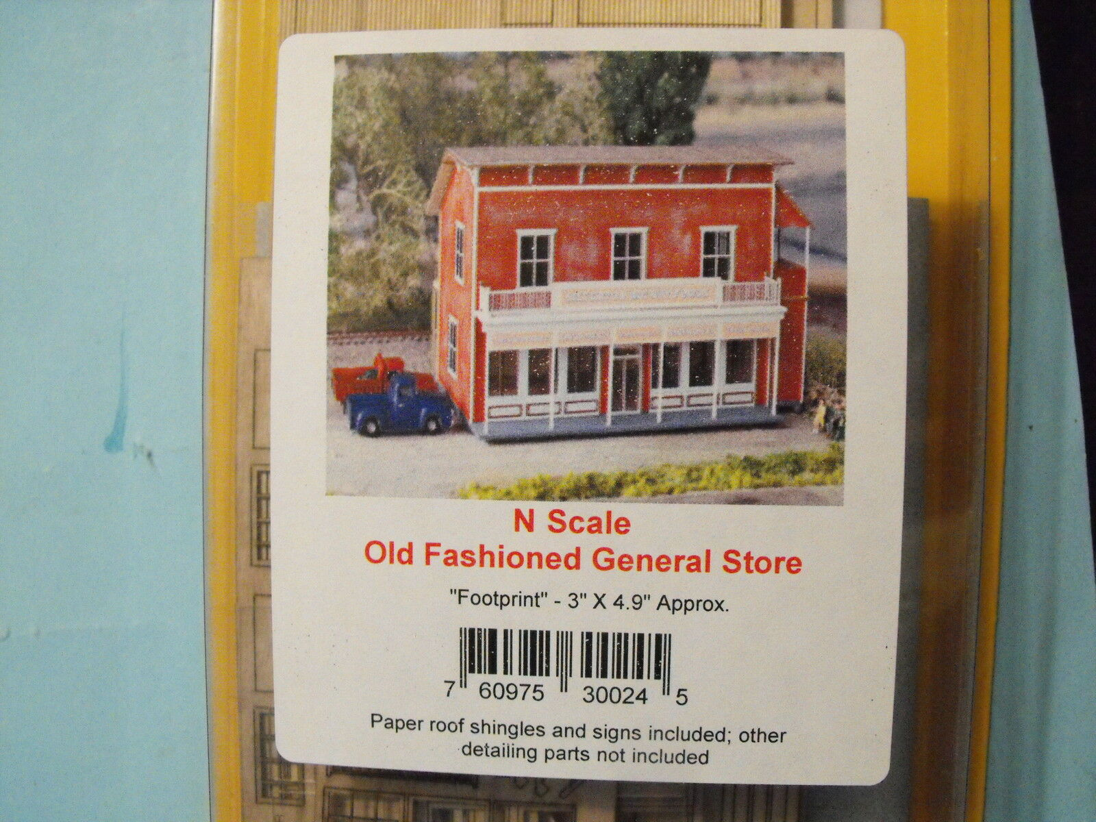 N SCALE OLD FASHIONED GENERAL STORE   BY NORTHEASTERN