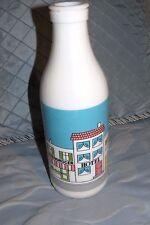 Egizia Milk Glass Bottle Hotel Bistro Grocery Design Home Decor Italy