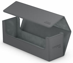 Details about ULTIMATE GUARD ARKHIVE GREY XENOSKIN FLIP 400+ DECK CASE Card  Storage Box MTG