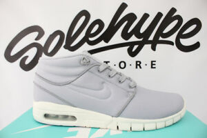 reputable site 5f7c7 d0725 Image is loading NIKE-SB-STEFAN-JANOSKI-MAX-MID-WOLF-GREY-