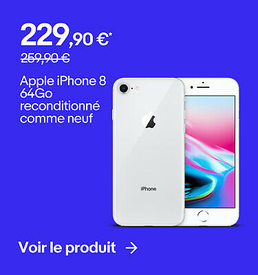 Apple iPhone 8 64Go reconditionné comme neuf - 229,90 €*