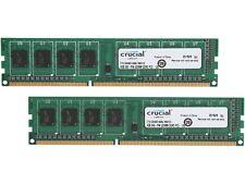 Crucial 8GB (2 x 4GB) 240-Pin DDR3 SDRAM DDR3L 1600 (PC3L 12800) High Density De