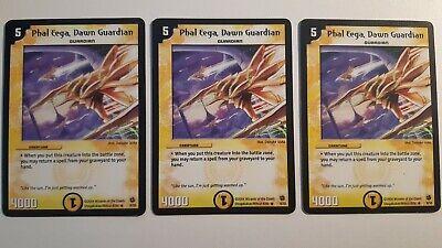 Duel Masters DM02 8//55 Phal Eega Dawn Guardian Evo-Crushinators of Doom WOTC