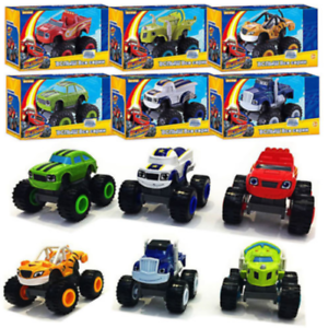 6Pcs-Blaze-and-the-Monster-Machines-Vehicles-Plastic-Toys-Racer-Cars-Trucks-Kids
