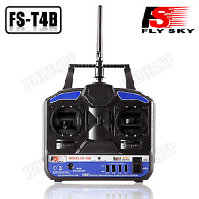 FS-T4B 2.4G 4CH Radio Model RC Transmitter & Receiver Airplane Helicopter Copter