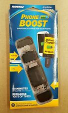 PHONE BOOST EMERGENCY CHARGE FOR YOUR PHONE - RAYVAC - NO CORDS - PS68BK