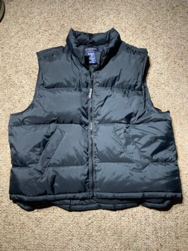 Woman's 3X Black DOWN Filled Puffer VEST - Catalin