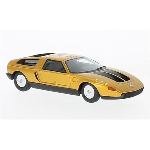 MERCEDES C111-IID 1976 METALLIC arancia 1:43 Neo Scale Models Concept Car