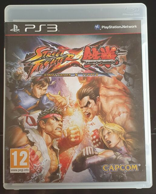 Street Fighter X Tekken - PS3 Complet PAL