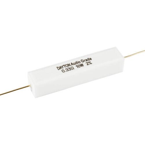 Dayton Audio DNR-0.33 0.33 Ohm 10W Precision Audio Grade Res