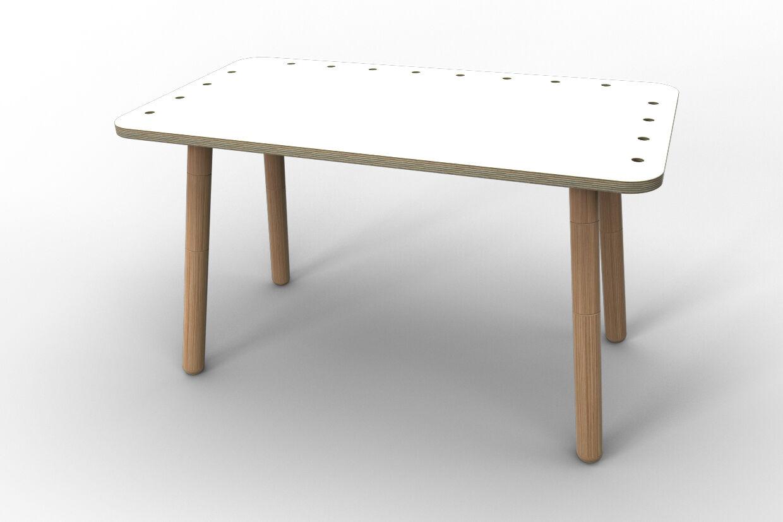 Enfants Table Bureau  Growing Table  de pure position-Blanc Neuf + immédiatement