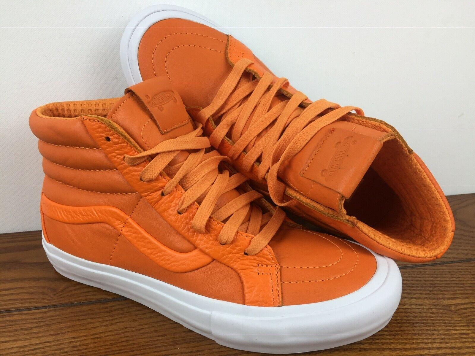 VANS New Sk8-Hi Reissue ST Premium Leather Mens Talla 12 ATM Glory