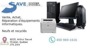 Vente, achat et réparation déquipements informatiques neufs et recyclés Canada Preview