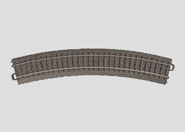 24230 Marklin Track Curved With Roadbed Series C Radius 2 437,5 MM