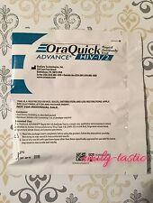 Oraquick Advance HIV-1/2 Rapid Antibody Test PRIVATE LISTING JAN 2018 Fast Ship!