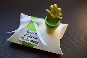 ღ Geschenk Box Ein Paar Bluten ღ Geldgeschenk Geburtstag Garten