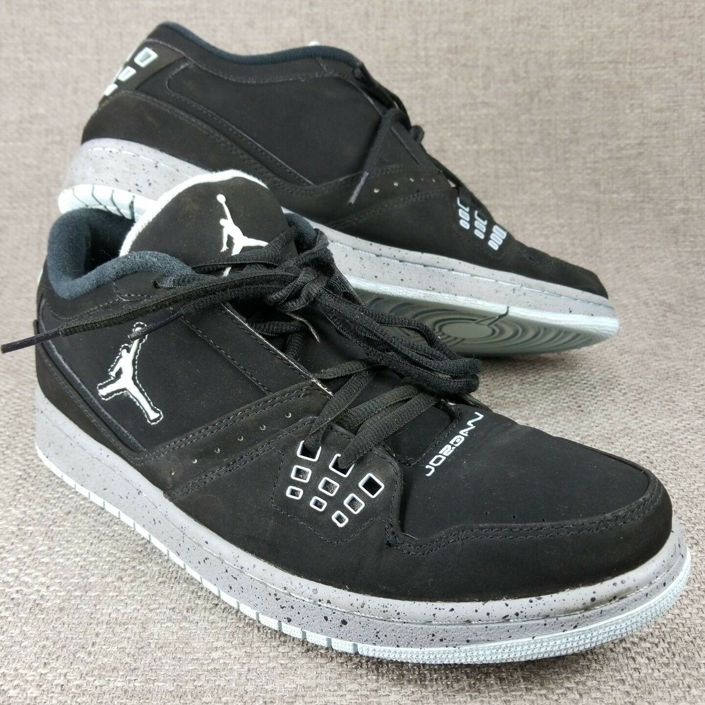 Nike air jordan jordan jordan volo scarpe scarpe scarpe nere uomo numero 12 350610   571c1d