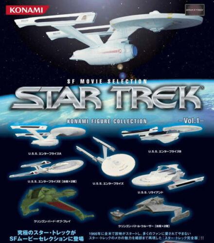 Konami Star Trek USS Enterprise NCC-1701-B  RARE    US SELLER