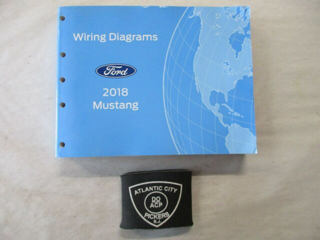 2018 Ford Mustang Electrical Wiring Diagrams Service Manual