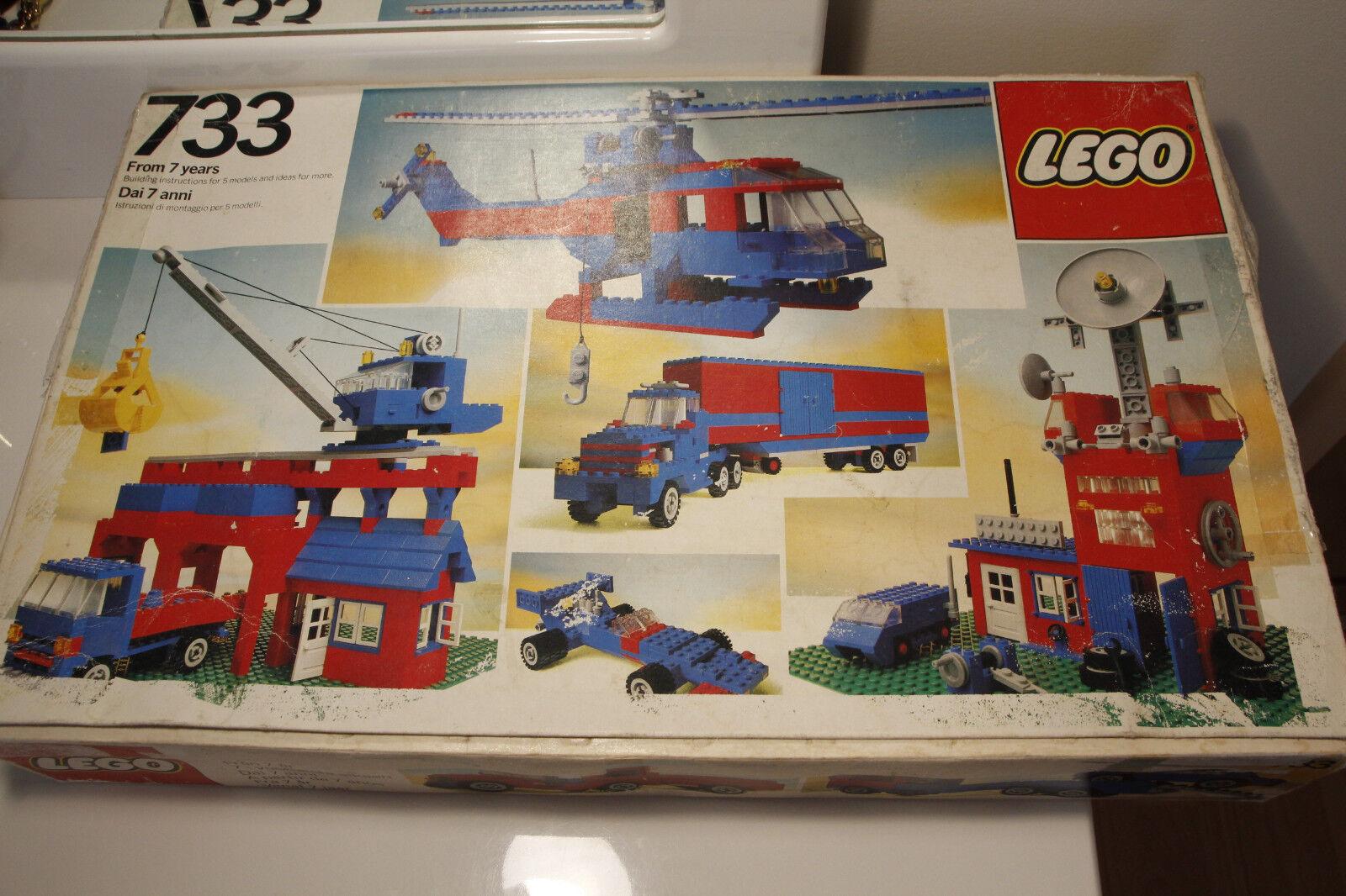 Lego Classic årgång 733 ca.1978