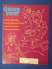 DOWN BEAT MAGAZINE FEBRUARY 28 1974 JAMES MOODY MARK ALMOND BAND MARION BROWN