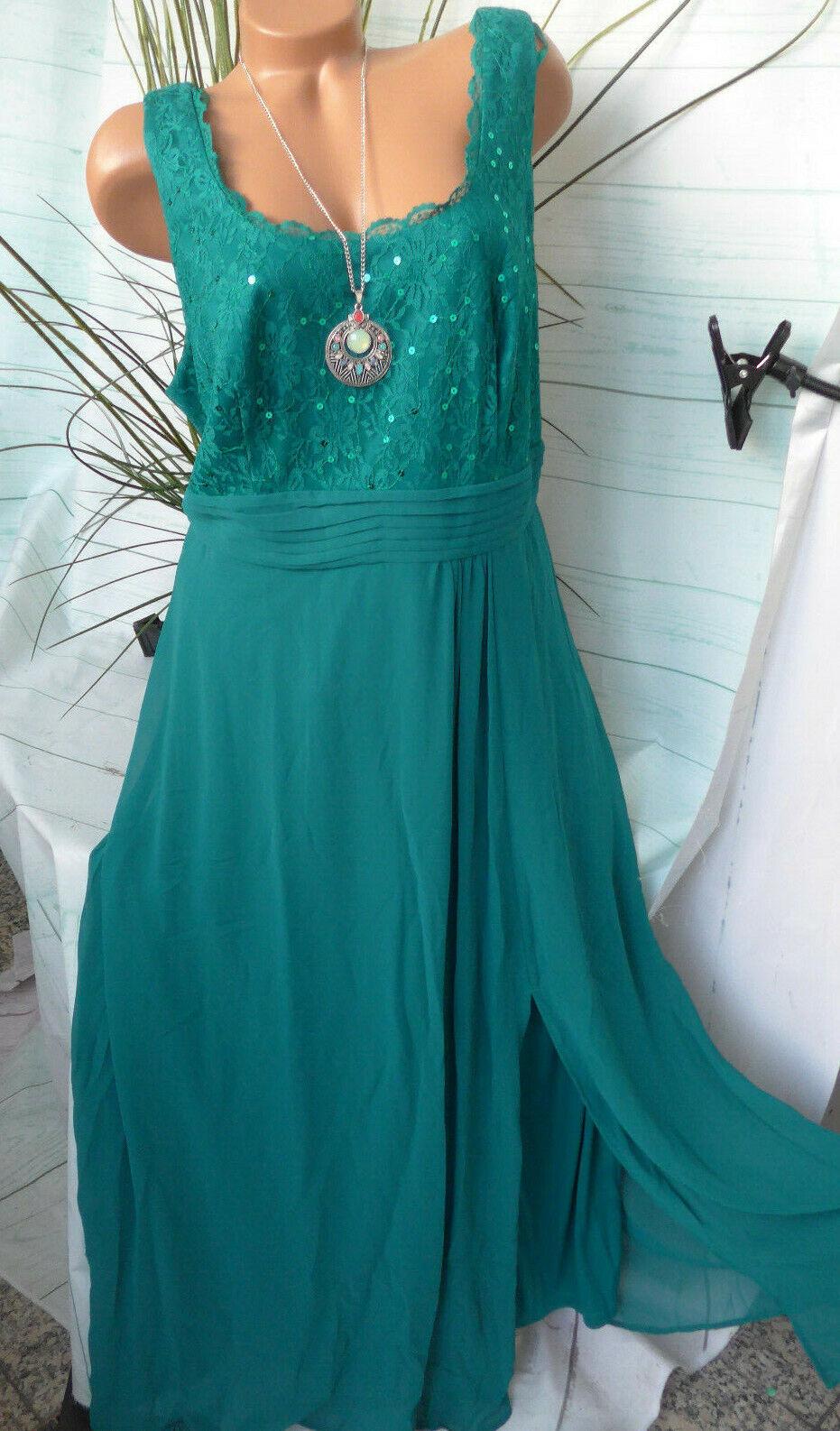 Sheego Eventkleid Abendkleid Kleid Damen Gr. 40 bis 58 (719)