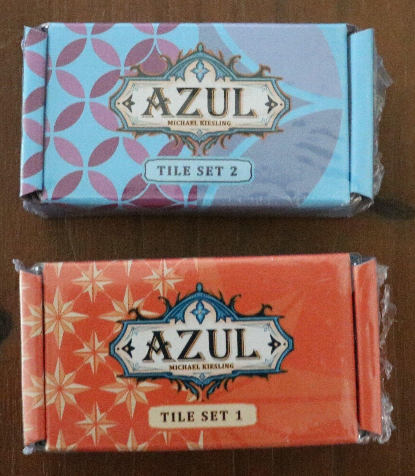blue Tile Board Game - Joker + Collector's Tile Set 1 & 2 Promo Expansions - NEW