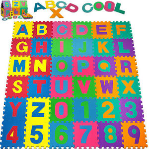 Baby-Alphabet-Number-Foam-Exercise-Floor-Kids-Puzzle-Play-Mat-Flooring-Tile-Game